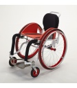 Action Chair - white & red